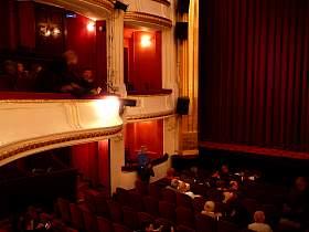 Les th tres parisiens iv lespassions - Plan salle theatre porte saint martin ...